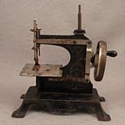 c.1900 Child's Antique Sewing Machine