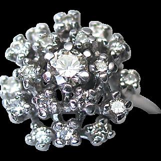 SALE Kurt Wayne 1.06cts Diamond Waterfall Ring