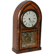 American, Wm.L.Gilbert & Co. Beehive Mantel Clock