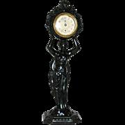 American, Waterbury Clock Co.,Figural Novelty Clock