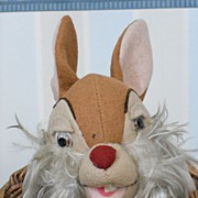 ~~~ Lovely Italian Cloth Bunny buy Lenci ~~~