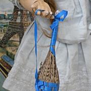 ~~~ Nice Antique France Lavender Sachets for Doll display ~~~