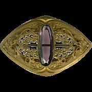 Large Sash Pin, Circa 1910