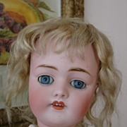 "Fantastic 20"" Kestner 168 w/Original Wig and Clothing"
