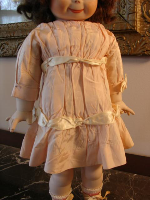 Adorable Antique Dress for Chunky Bodied Googlie