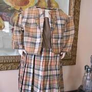 Wonderful 1880's Era Dress and Jacket