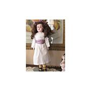 Adorable Early Kestner German Bisque Doll