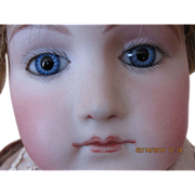 "Gorgeous 18"" Portrait Jumeau Mature Lady Doll"