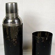 Very Old Thermos Flask – Icy-Hot Bottle Co. Cincinnati USA.