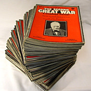 """""""The Second Great War"""" A Standard History Magazine, 1939 to 1946 - (91 Issues)"""