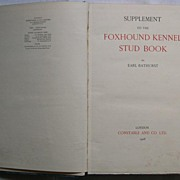 English Foxhound Kennel Stud Book 1928