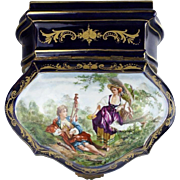 "Antique French Procelain ""Masterpiece"" Artist Signed Box   SEVRES STYLE"