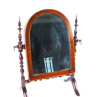 Antique Miniature Doll  Dressing Mirror