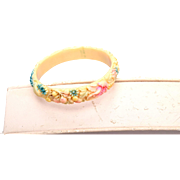 Made in Japan Small Dyed Celluloid Bracelet