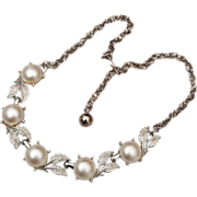Faux Pearl Necklace Never Worn