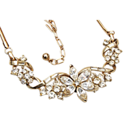 Coro With Pegasus Rhinestone Necklace