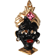 Blackamoor Figural Brooch