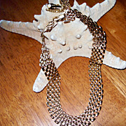 Cleopatra Style Choker Necklace and Earrings